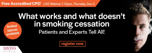 What does and what doesn't work in smoking cessation? Patients and experts tell all!
