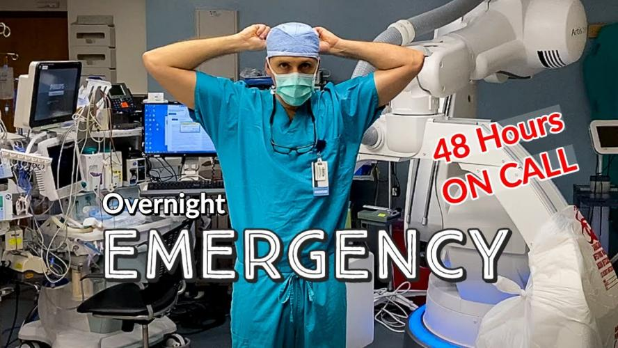 REAL Day in The Life of a DOCTOR - ON CALL EMERGENCY - YouTube